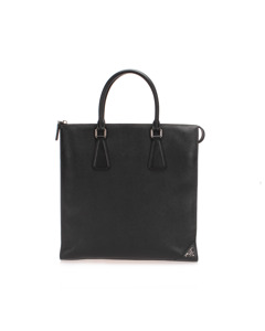 Prada Saffiano Tote Bag Black