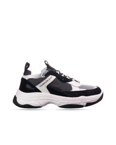 Maya Wit Zwarte Sneakers