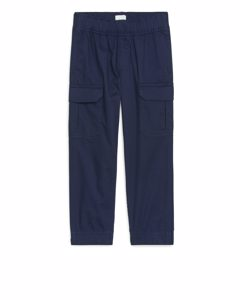 Cargo Trousers Dark Blue