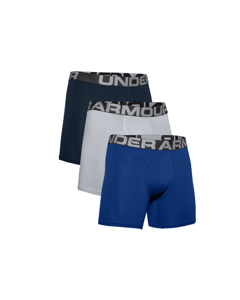 Under Armour > Under Armour Charged Cotton 6IN 3 Pack 1363617-400