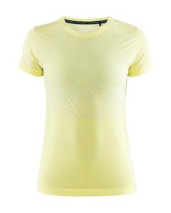 Cool Comfort She Rn Ss W - Rise Melange-yellow-m
