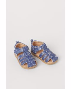 Sandalen Blau/Tiere