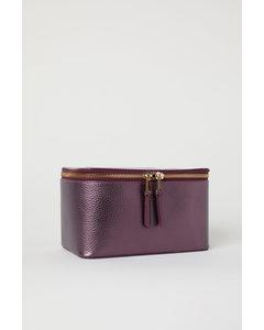 Makeup-väska Lilametallic