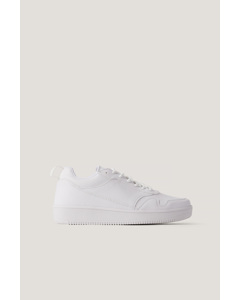 Basic Sporty Trainers White