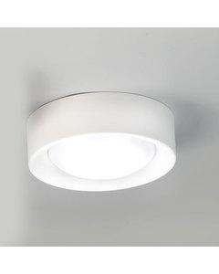 Cilinder Mat Wit Staal Klein Plafond Licht