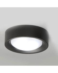 Cilinder Mat Zwart Staal Klein Plafond Licht