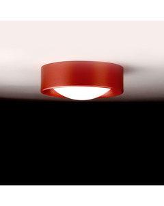 Cilinder Bourgondisch Staal Klein Plafond Licht