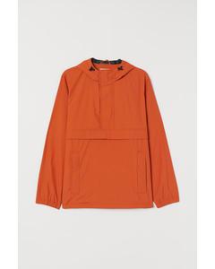 Hood Jacket Orange