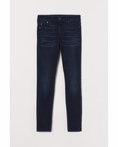 Shaping High Jeans Blåsvart