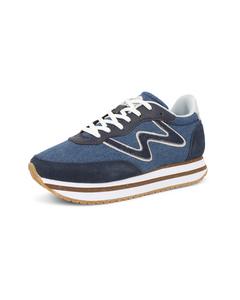 Sneakers Olivia Ii Plateau Denim