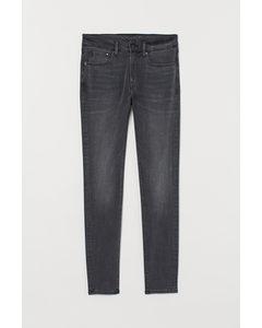 Skinny Comfort Jeans Dunkelgrau