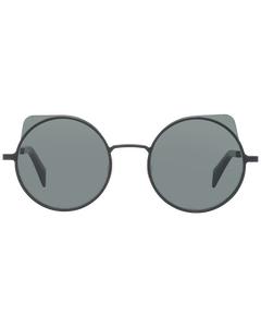 Yohji Yamamoto Mint Unisex Black Sunglasses Yy7030 52031 52-22-144 Mm