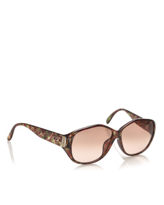 Dior Round Tinted Sunglasses Brown