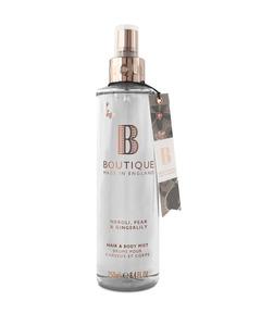 Boutique Neroli, Pear & Gingerlily Hair & Body Mist 250ml