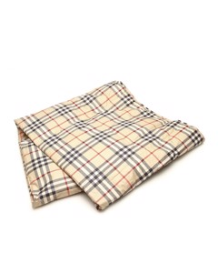 Burberry House Check Cotton Blanket Brown