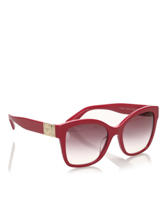Dolce&gabbana Square Tinted Sunglasses Red