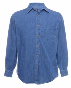 1990 Long Muff Denim Shirt
