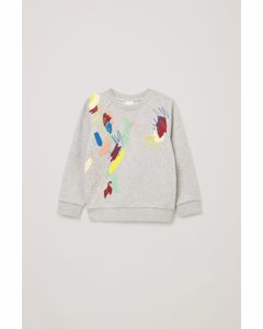 Printed Sweatshirt Grey / Multicoloured