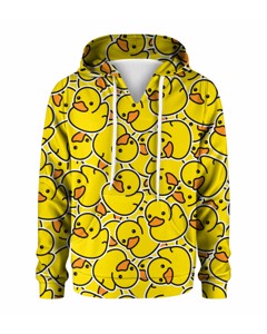 Mr. Gugu & Miss Go Rubber Duck Kids Hoodie Happy Yellow