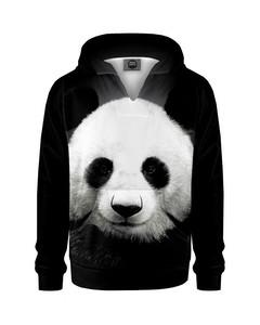 Mr. Gugu & Miss Go Panda Kids Hoodie Animal Black