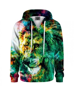 Mr. Gugu & Miss Go King Of Colors Kids Hoodie Jungle Green