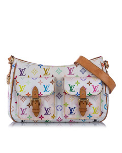 Louis Vuitton Monogram Multicolore Lodge Gm White