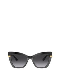 DG4374 black on transparent black Sonnenbrillen