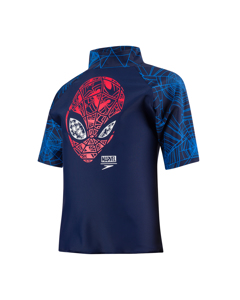 Marvel Spiderman Sun Top - Nav/red