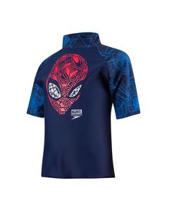Marvel Spiderman Sun Top - Nav/red