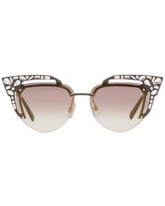 Dsquared2 Mint Women Brown Sunglasses Dq0312 5549g 55-14-150 Mm