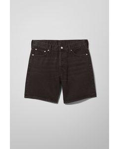 Vacant Denim Shorts Echo Black