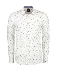 Overhemd Lange Mouw Met Bloemen Print