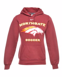 1990s Nike Northgate Soccer Hooded Sports Sweatshirt