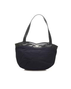 Loewe Canvas Tote Bag Blue