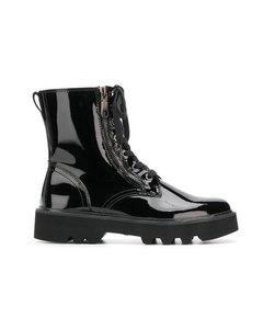 Diahne Black Booties