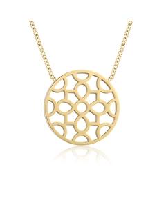 Poros Small Pendant Necklace Gold