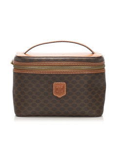 Celine Macadam Vanity Bag Brown