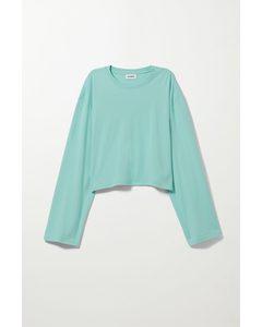 Smash Long Sleeve Turquoise