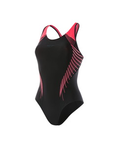 Speedofit Laneback Af - Black/psycho Red/oxide Grey