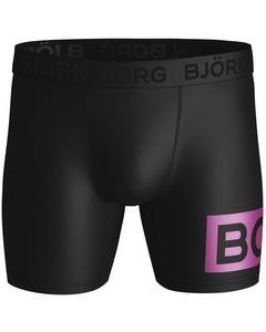Björn Borg 1-pack Boxers Radiate Zwart/roze Svart