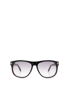 Ft0236 Black Solglasögon