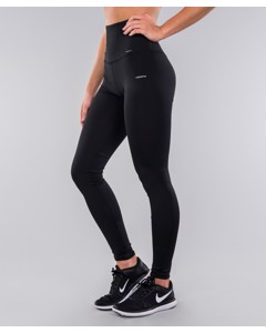 Full Black Classic Highwaist Leggings