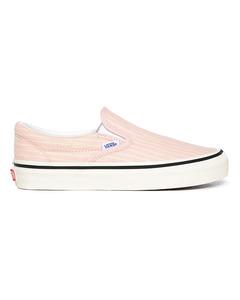 Ua Classic Slip-on 98 Dx F (anaheim Factory) Og Stripes/og Pink