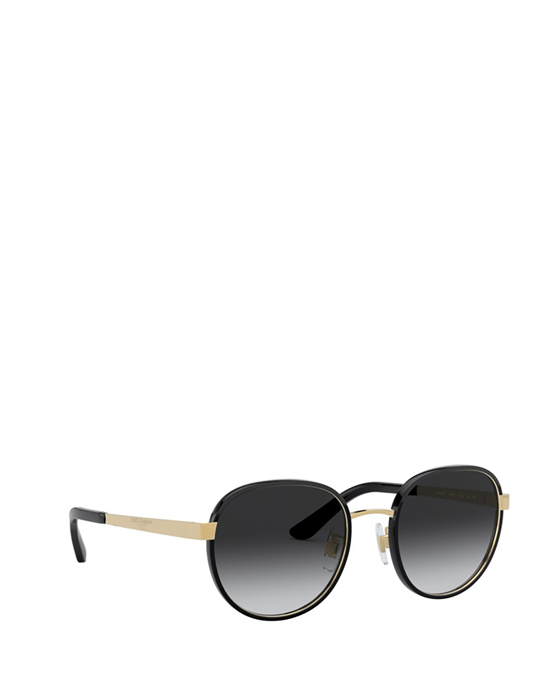 Dolce & Gabbana Dg2227j Black / Gold Sunglasses