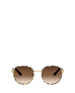 Dg2227j Leo Glitter Gold Solglasögon